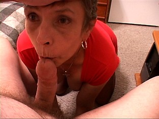 Cute Little Granny Anal Slave
