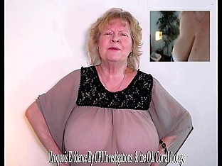 O.K. Corral reenactment model with Huge Granny tits
