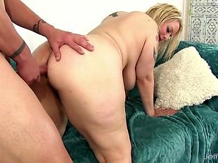 Jeffs Models - Fat Ass Anal Slut Sinful Samia Doggystyle Compilation Part 1