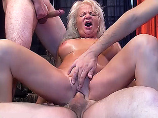 gangbang with 68 years old mom